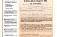 Confedilizia notizie – Ottobre 2003