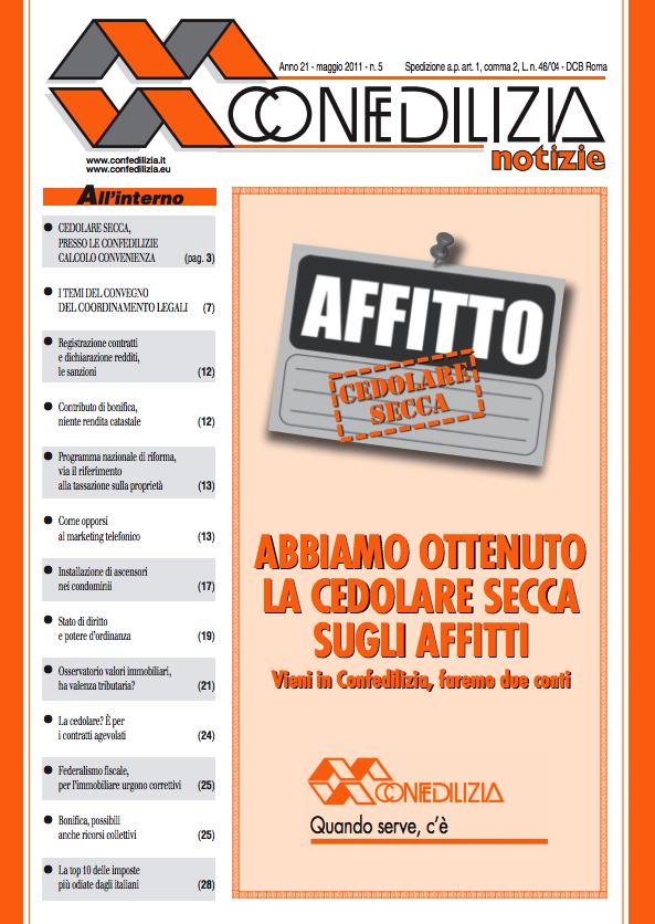 Confedilizia notizie – Aprile 2011