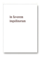 IN FAVOREM INQUILINORUM