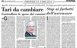 Italia Oggi – Marzo 2016
