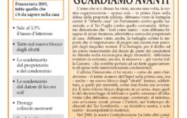 Confedilizia notizie – Gennaio 2001