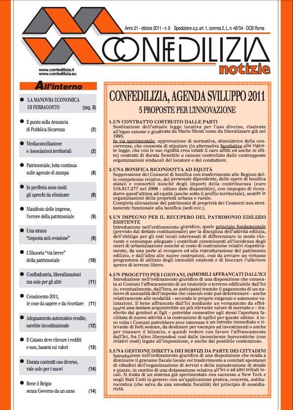 Confedilizia notizie – Ottobre 2011