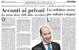 Italia Oggi – Maggio 2016