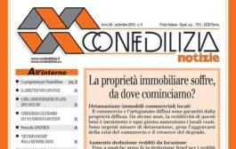 Confedilizia notizie – Settembre 2016