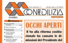 Confedilizia notizie – Dicembre 2016