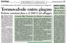 Italia Oggi – Gennaio 2017