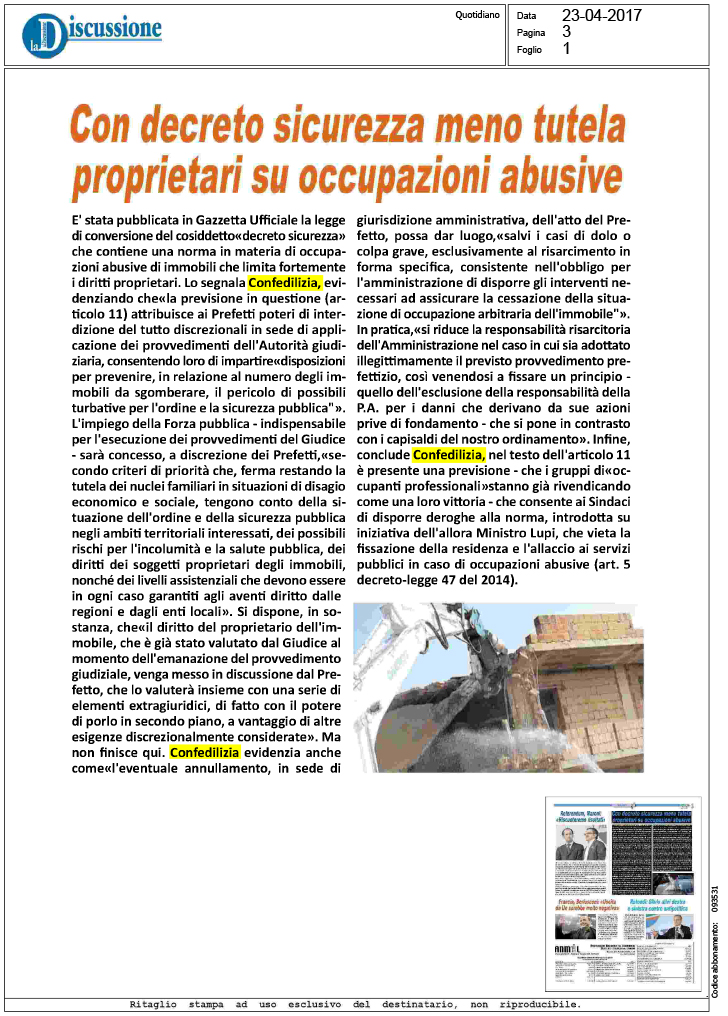 decreto sicurezza - photo #44