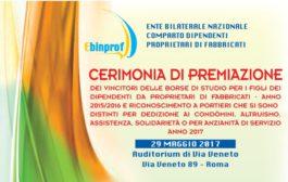 Ebinprof – 29.5.2017 – Cerimonia di premiazione