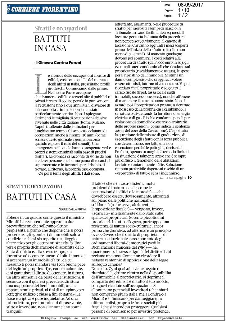 Corriere della sera 8 battuti in casa for Corriere della sera casa