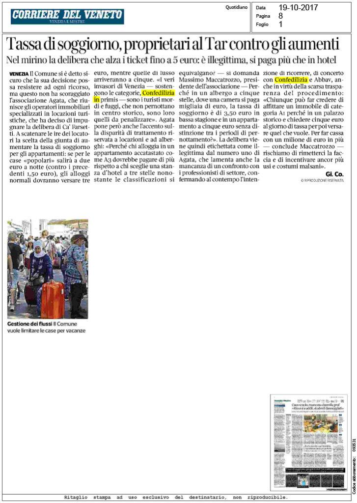 Corriere del veneto tassa di soggiorno for Tassa di soggiorno a firenze 2017