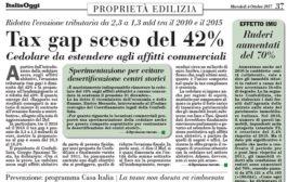 Italia Oggi – Ottobre 2017
