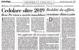 Italia Oggi – Novembre 2017