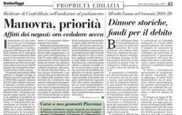 Italia Oggi – Dicembre 2017