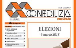 Confedilizia notizie – Gennaio 2018