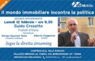 Il mondo immobiliare incontra la politica: Guido Crosetto