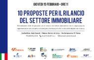 10 proposte per il rilancio del settore immobiliare