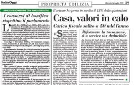 Italia Oggi – Luglio 2018