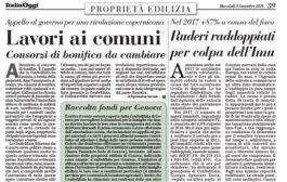 Italia Oggi – Settembre 2018
