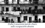 Dalla Cassazione parole chiare sulle occupazioni abusive