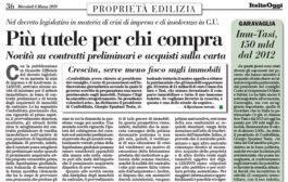 Italia Oggi – Marzo 2019