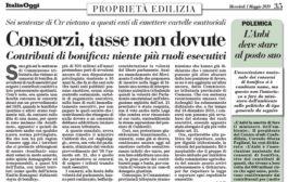 Italia Oggi – Maggio 2019