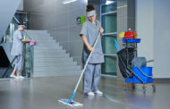 Addetto alla pulizia e condominio