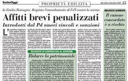 Italia Oggi – Settembre 2019