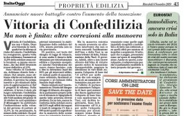 Italia Oggi – Novembre 2019