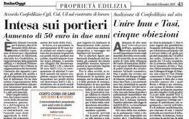 Italia Oggi – Dicembre 2019
