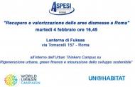 Recupero e valorizzazione delle aree dismesse a Roma
