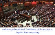Audizione parlamentare di Confedilizia sul decreto rilancio