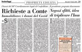 Italia Oggi – Ottobre 2020