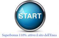 Superbonus 110%: attivo il sito dell'Enea