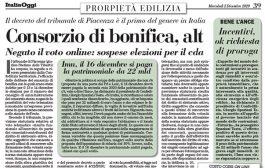 Italia Oggi – Dicembre 2020