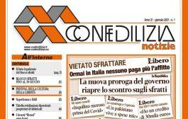 Confedilizia notizie – Gennaio 2021