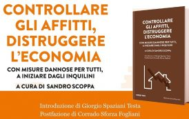 """Presentazione del libro """"Controllare gli affitti, distruggere l'economia"""""""