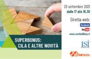 Superbonus: Cila e altre novità